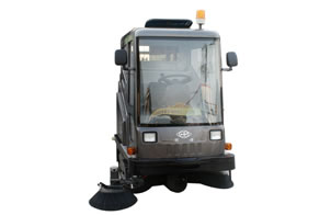 All Closed Electric Sweeper