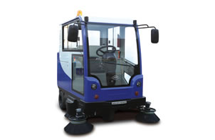 Electric All-Closed Road Sweeping Vehicle