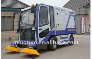 Industrial Cleaning Sweeper